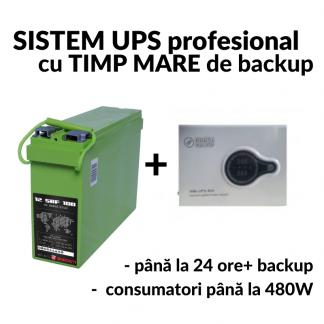 sistem UPS 480W - 100Ah